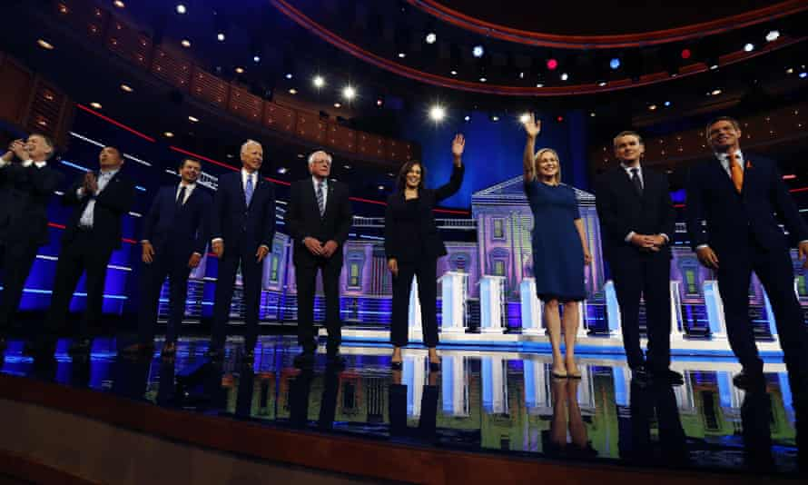 'Republicans are likely pleased with the Democratic debates because, except for healthcare, the debates missed areas to challenge Republicans in the heartland or mobilize Democratic voters outside of the traditional progressive base.'