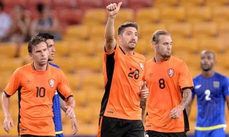 Brandon Borrello nets four for Brisbane Roar in Asian Champions League