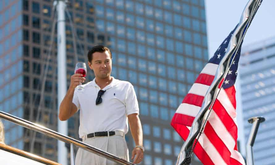 Leonardo DiCaprio in The Wolf of Wall Street. Malaysian investors celebrated the arrival of 2013 in Australia and Las Vegas by way of a private jet.