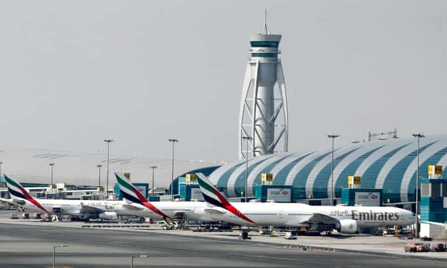 Dubai international airport, which handled more than 78 million passengers in 2015