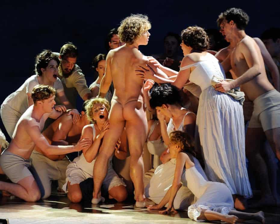 Celestin Boutin, as Tadzio, in Death in Venice for Garsington Opera at Wormsley.