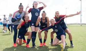 US Women's National Soccter Team
