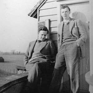 Britten and Peter Pears at the Old Mill, Snape c. 1943 Credit: © Britten-Pears Foundation File name: PH_03_0007