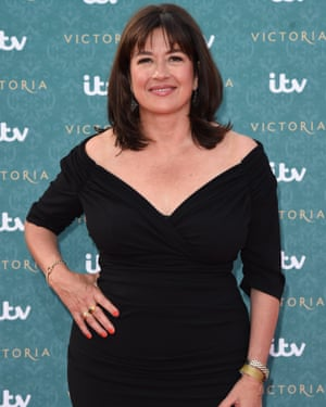 Daisy Goodwin, the writer of Victoria.