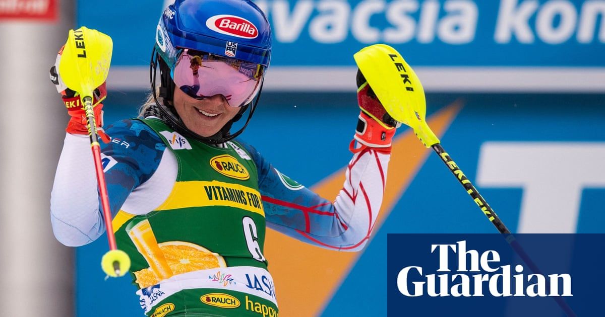 Mikaela Shiffrin catches rival Petra Vlhova for 45th World Cup slalom win
