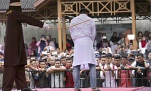 Man whipped in Aceh
