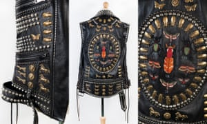 Ozzy Osbourne's Gucci leather waistcoat worn during No More Tours 2 in 2018.