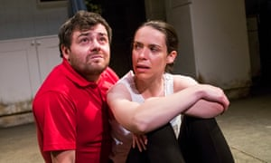 Laurence Kinlan (Kurt) and Caoilfhionn Dunne (Martha) in The Nest