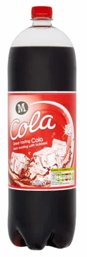 Morrisons cola.