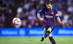 Lionel Messi can be a thorn in Tottenham's side this season.