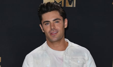Serial offender … Zac Efron.
