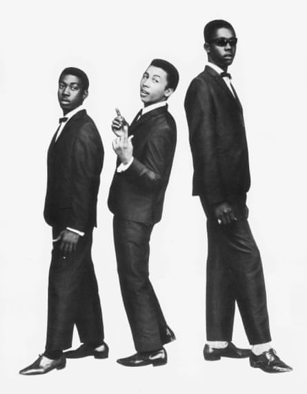 Impressions pose ... the Wailers in 1964.
