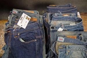 Flint's jeans