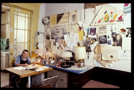 Louise Bourgeois in her home on West 20th Street, New York, 2000