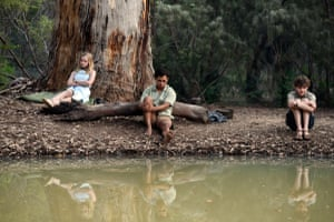 'A match for any Spielbergian 80s coming-of-age classic': Angourie Rice, Aaron McGrath and Levi Miller in Rachel Perkins' Jasper Jones.