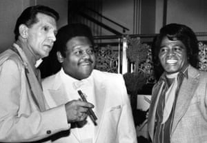 Jerry Lee Lewis, Domino and James Brown in New York, 1986