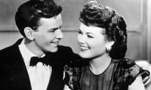 Barbara Hale and Frank Sinatra