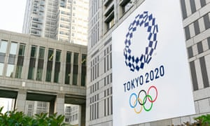 The Tokyo Olympic logo