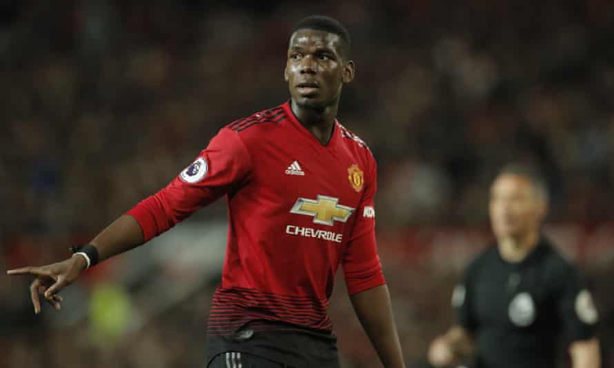 Paul Pogba is the only player not representing Manchester City or Liverpool in the PFA team of the year.