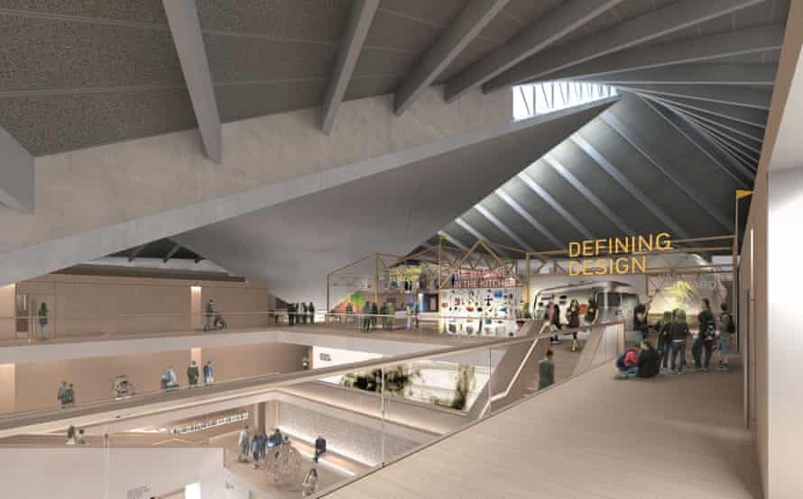 How the new Design Museum will look inside.