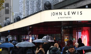A John Lewis store in London.