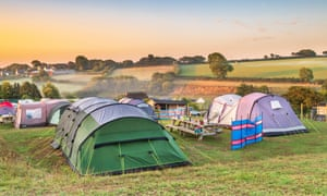 Up to half of campsites are already fully booked throughout August while city hotels stand three-quarters emptier than last year.