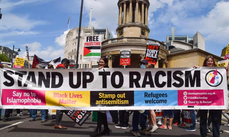 anti-racism protests in London