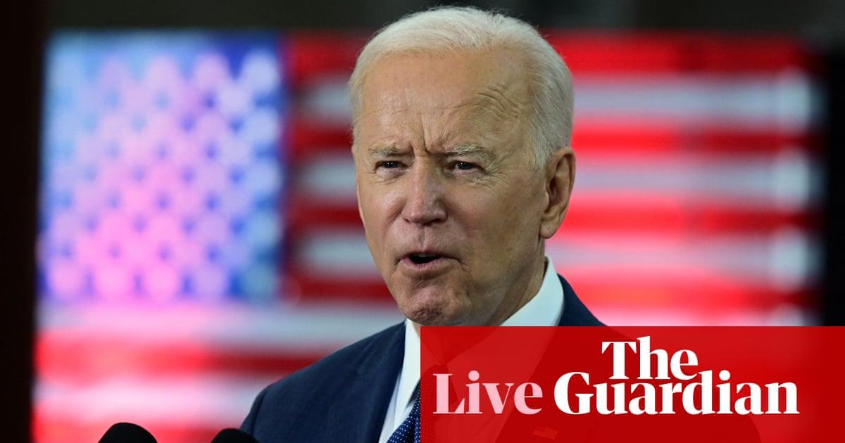 Biden set to talk up economic resurgence after promising jobs news – US politics live