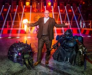 'Pretty cool': Dara Ó Briain in Robot Wars.