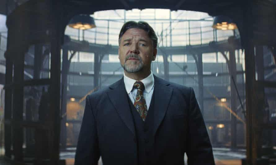 Russell Crowe as Dr Jekyll in The Mummy.