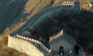 Melania Trump visits the Great Wall of China