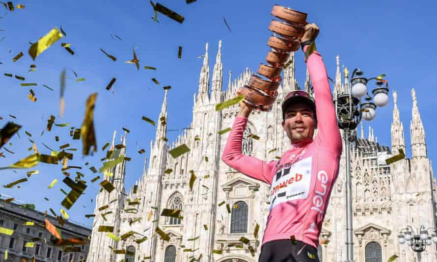 The 2017 Giro d'Italia ended in Milan but winner Tom Dumoulin is set to begin the defence of his title in Jerusalem.