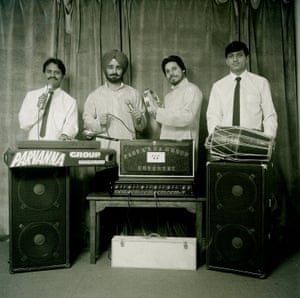 The Coventry-based band Parvanna Group. 'They wanted to be famous and needed a photograph in black and white for newspaper adverts. They all had full-time jobs,' Masterji explains