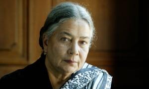 Anita Desai, who has produced a 'magnificent shelf of novels'.