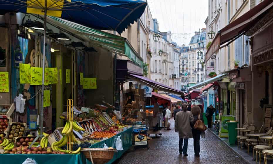 Rue Mouffetard street market