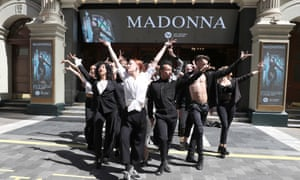 Madonna dancers announce Madonna's Madame X tour that came to the UK last year