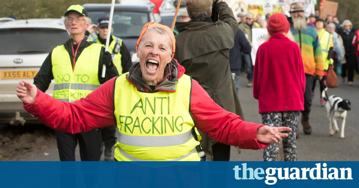 Fracking protester warns: 'Yorkshire's gorgeous, but that can be taken away'