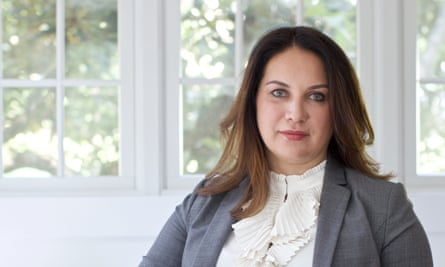 Rukmini Callimachi of the New York Times at home.