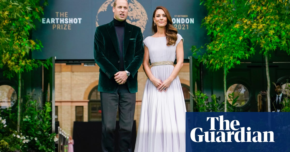 Prince William reveals Earthshot Prize winners in global bid to tackle climate crisis
