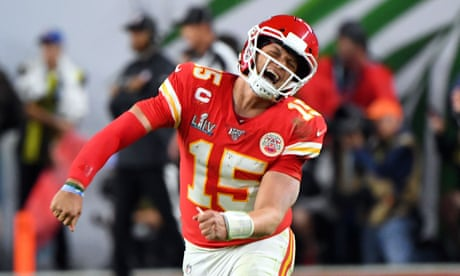 Super Bowl LIV: the best pictures as the Chiefs stun the 49ers