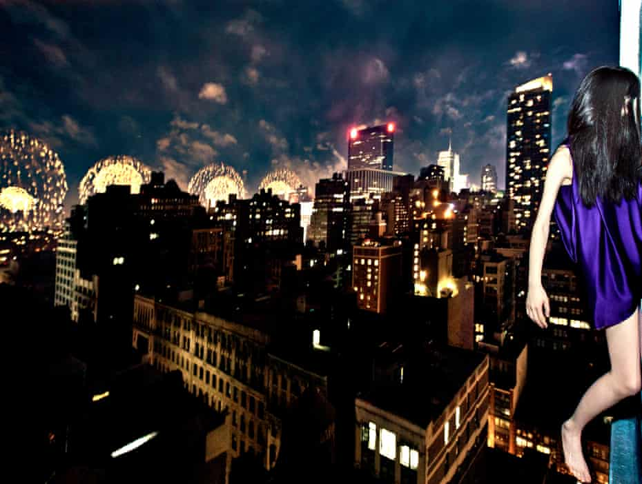 Jun Ahn, Self Portrait NYC2011