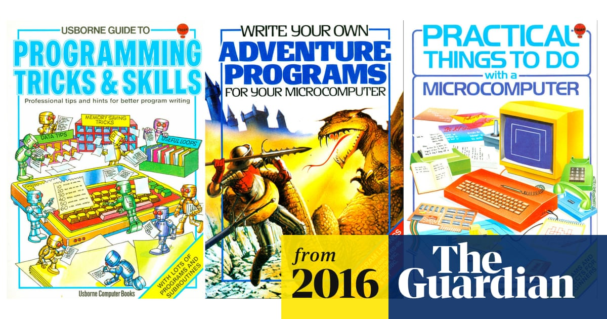 Back to the future of programming: Usborne revives 1980s coding
