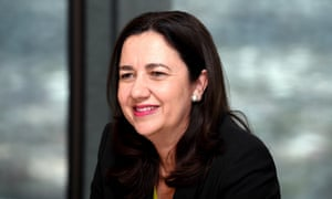Labor's Annastacia Palaszczuk will be able to form government after securing a slim majority.