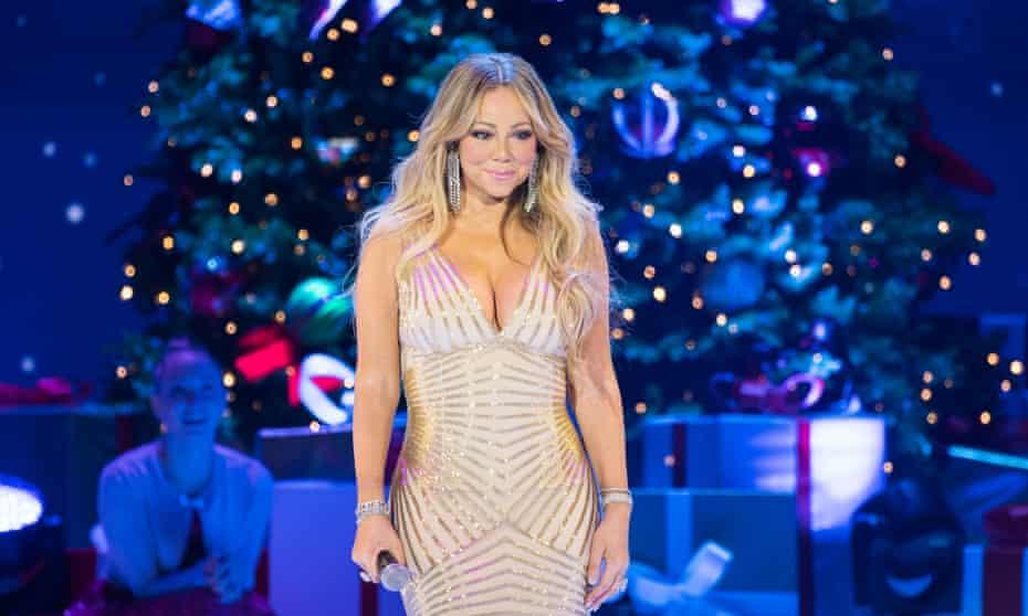 Mariah Carey at the O2 Arena, London, in December 2017.