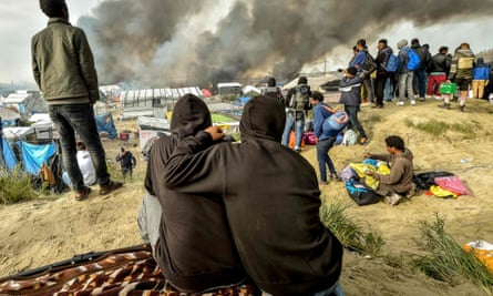 The Calais camp was dismantled in October.
