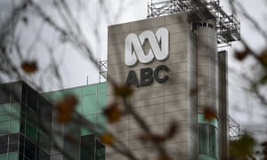 Signage at the ABC building in Sydney, June 24, 2020.