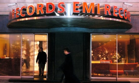 EMI's London offices in February 2003