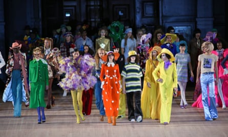 Marc Jacobs show at New York Fashion Week, 11 Sep 2019.