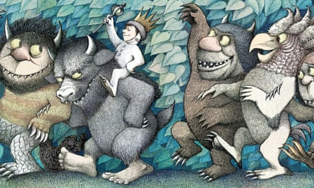 Max and the Wild Things from Obama's favourite, Where The Wild Things by Maurice Sendak
