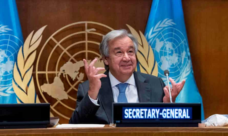 Experts said one of the many clear winners on the world stage from Biden's win is the UN secretary general, António Guterres.